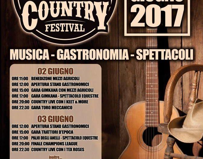 COUNTRY FESTIVAL – ROCCASECCA (FR)