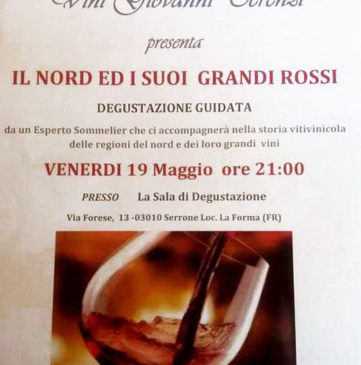 """IL NORD E I SUOI GRANDI ROSSI – Az. Vitivinicola """"Giovanni Terenzi"""""""