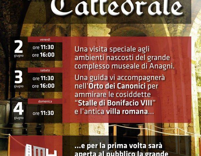 I SOTTERRANEI DELLA CATTEDRALE – Anagni (Fr)