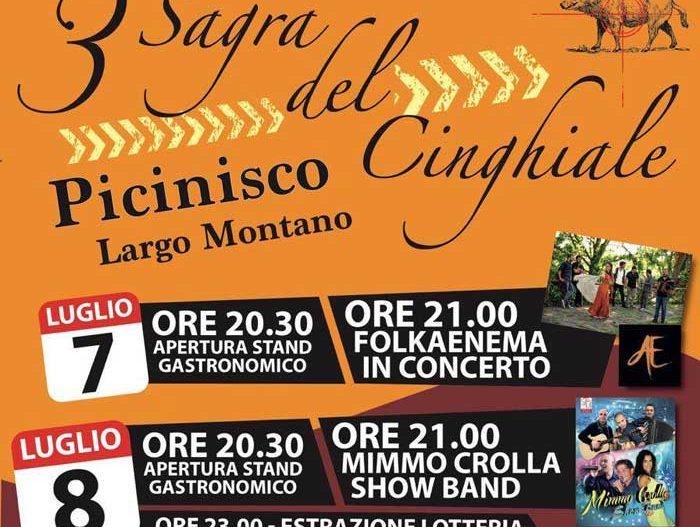 3° SAGRA DEL CINGHIALE – Picinisco (Fr)