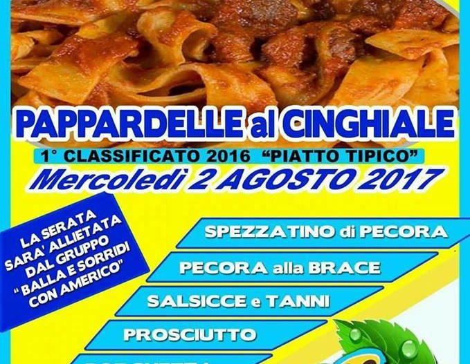 PAPPARDELLE AL CINGHIALE – Arpino (Fr)