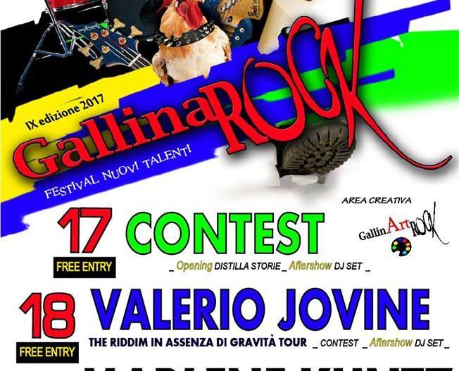 GALLINAROCK – Gallinario