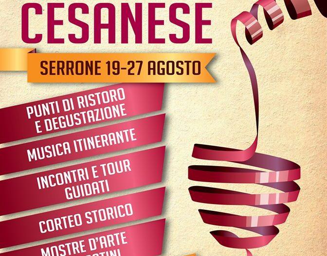59° SAGRA DEL CESANESE – Serrone (Fr)