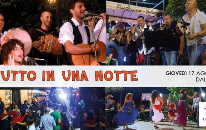 TUTTO IN UNA NOTTE – Bar Lazio – Serrone