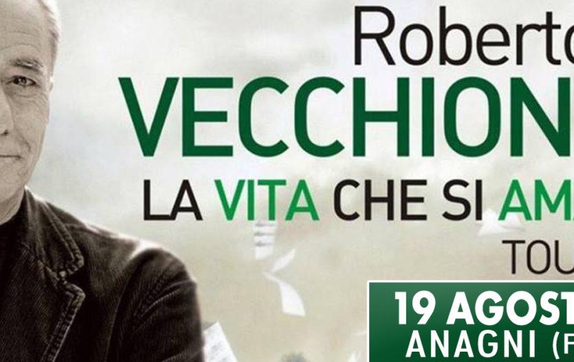 ROBERTO VECCHIONI in Concerto – Anagni (Fr)