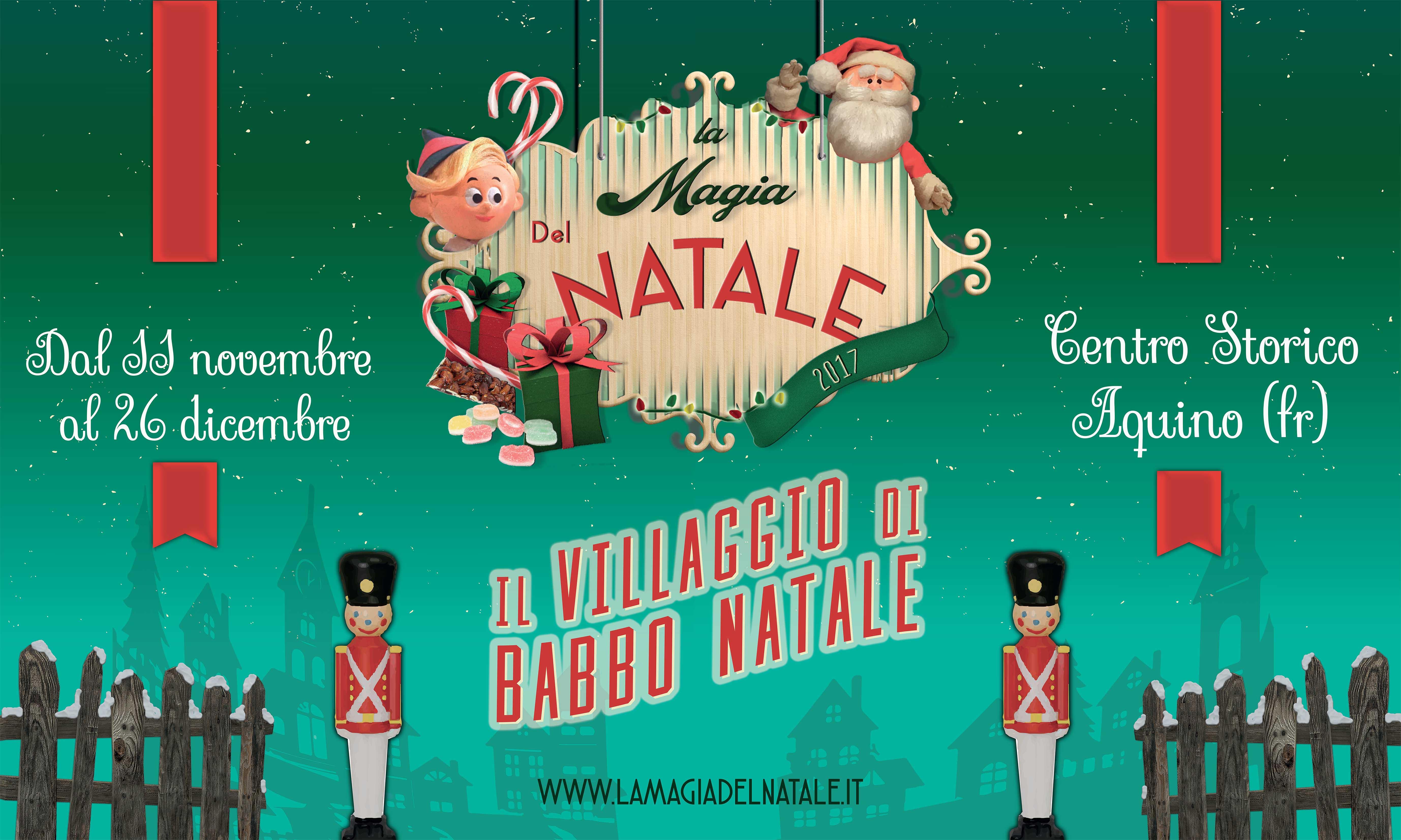 Immagini Del Villaggio Di Babbo Natale.Villaggio Di Babbo Natale Aquino Fr Ciociaria In Tour