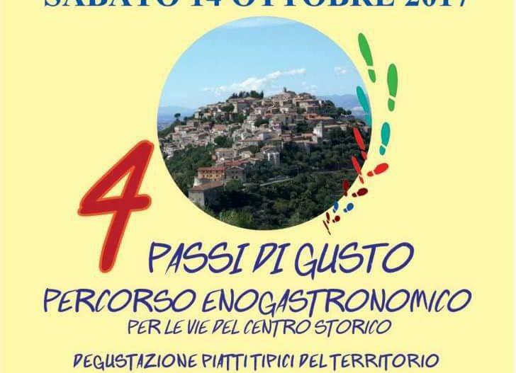 4 PASSI DI GUSTO – Castro dei Volsci (Fr)