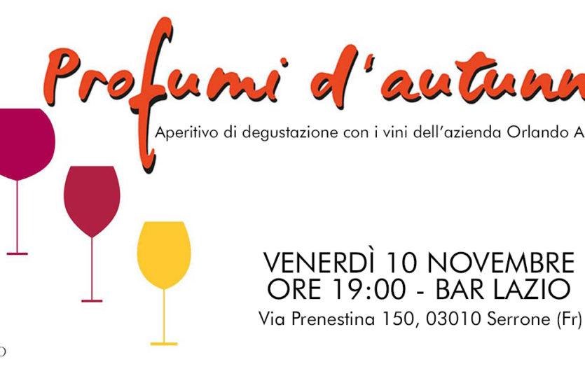 Profumi d'autunno #2 – Bar Lazio