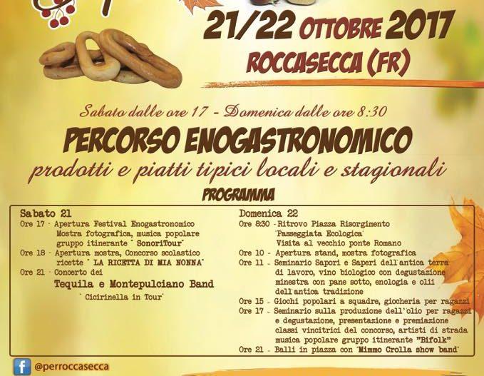 SAPORI D'AUTUNNO – Roccasecca (Fr)