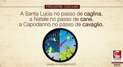 PROVERBIO CIOCIARO – SANTA LUCIA