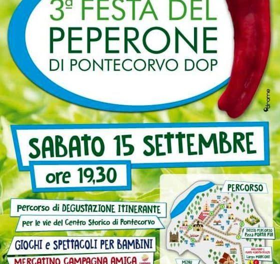 FESTA DEL PEPERONE DOP di Pontecorvo