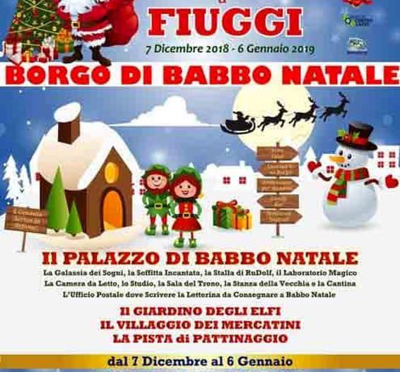 BORGO BABBO NATALE – Fiuggi