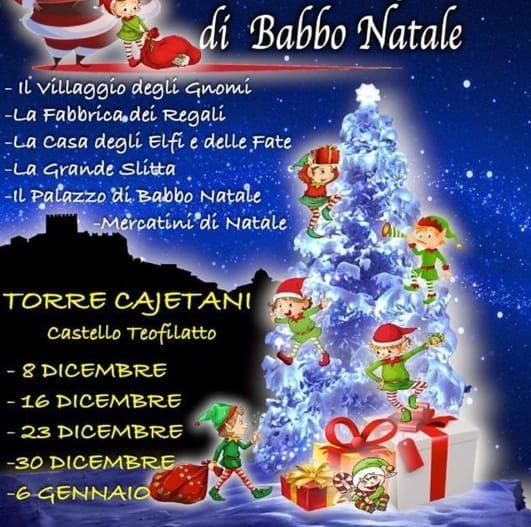 IL CASTELLO MAGICO DI BABBO NATALE