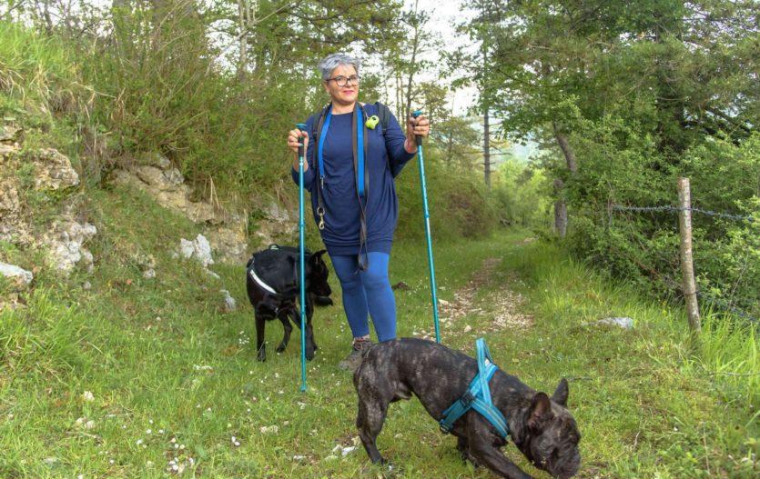 Due giorni di relax e dog trekking a Piglio